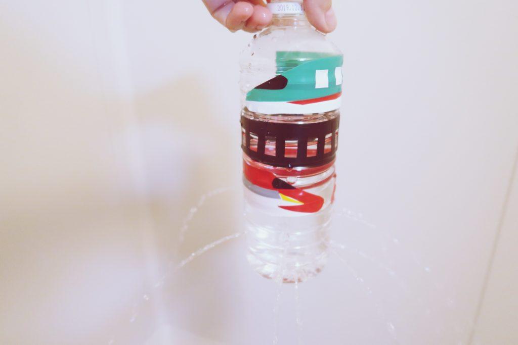 手作りペットボトルシャワーで遊んでみた