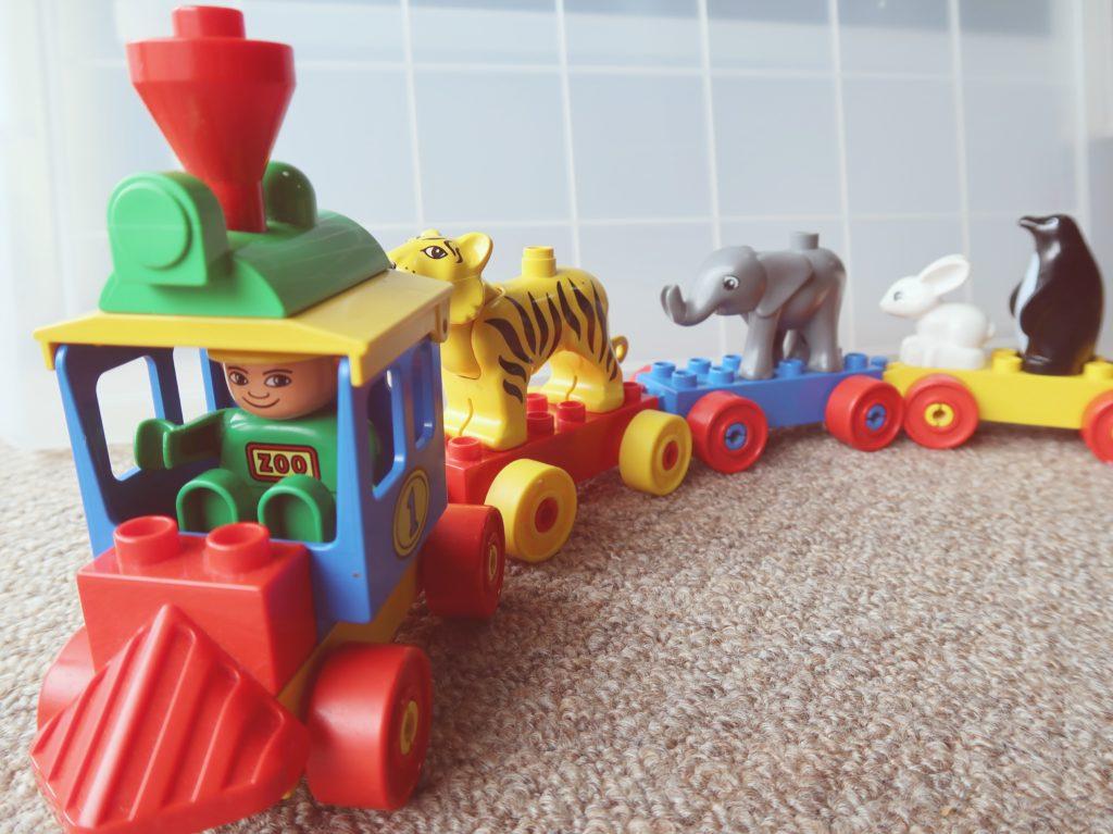 レゴデュプロの電車