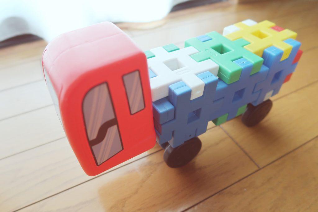 ニューブロックで作ったトラック