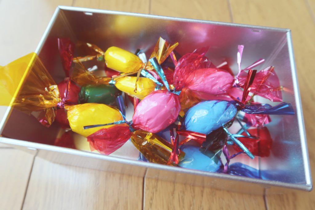 手作りおもちゃの飴(キャンディ)